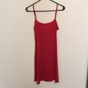 Vintage Sexy Red backless dress